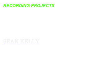 RECORDING PROJECTS